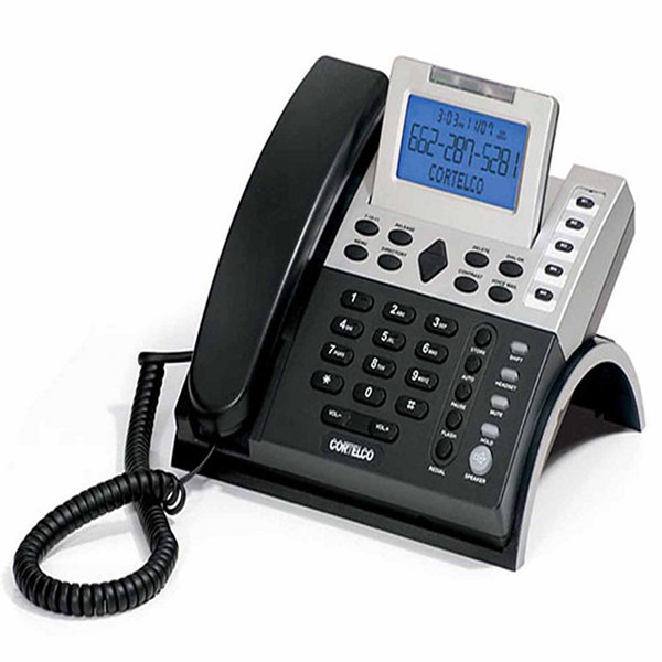 Cortelco ITT-1210 Corded Single-Line Business Telephone with Caller ID
