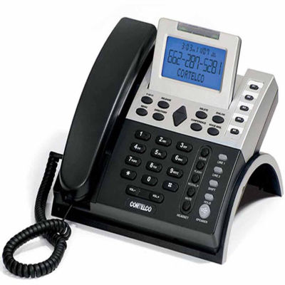 Cortelco ITT-1220 Corded 2-Line Business Telephone with Caller ID