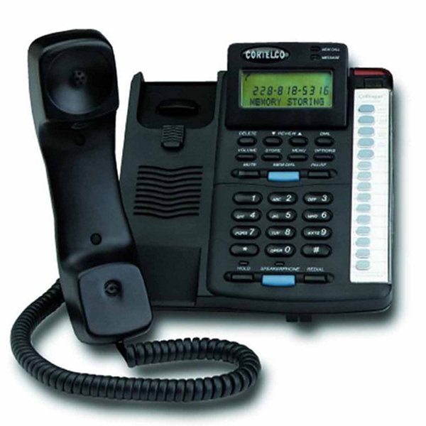 Cortelco ITT-2200 Colleague Single Line Corded Telephone with Caller ID