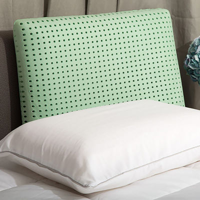 Authentic Comfort® Green Tea Jumbo Memory Foam Pillow