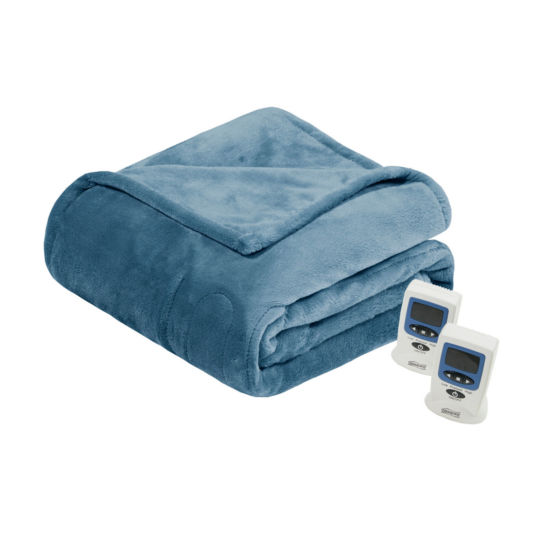 Beautyrest Plush Heated Electric Blanket