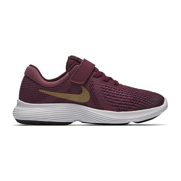 Nike® Revolution 4 Girls Running Shoes - Little Kids