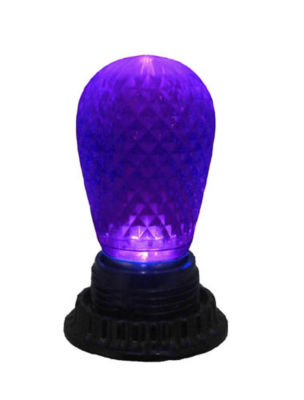 Club Pack of 25 LED Purple Replacement Christmas Light Bulbs - E26 Base