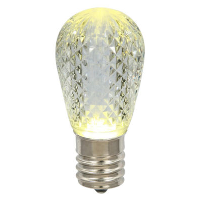 Club Pack of 25 LED Warm Clear Replacement Christmas Light Bulbs - E26 Base