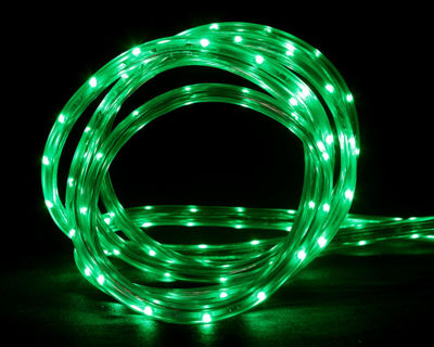 10' Green LED Indoor/Outdoor Christmas Linear Tape Lighting