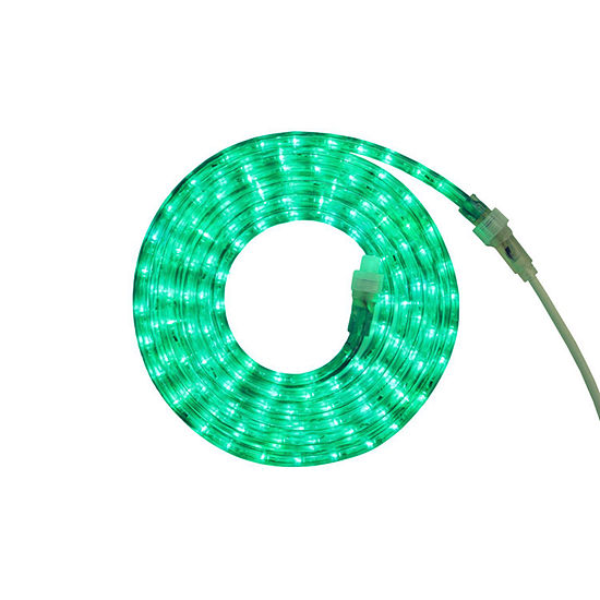 12 green led indooroutdoor christmas rope lights