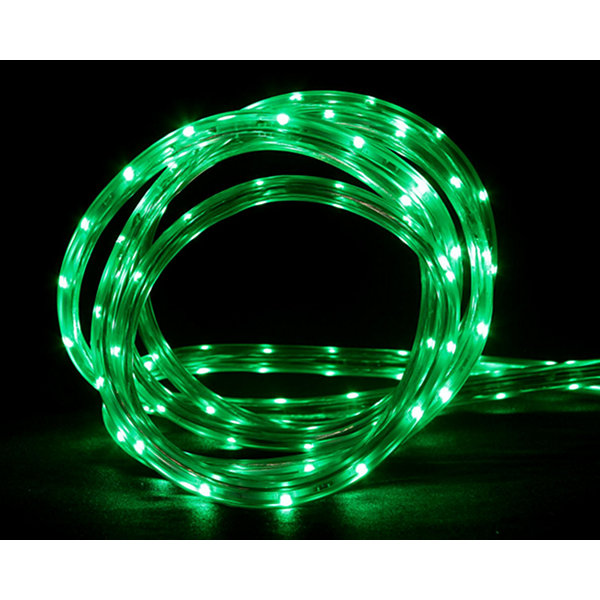 100' Commercial Green LED Indoor/Outdoor Christmas Linear Tape Lighting