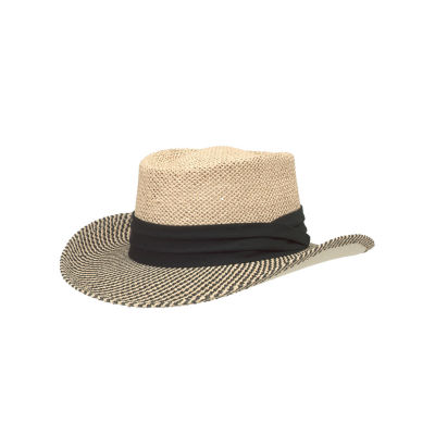 San Diego Hat Company Men's Toyo Gambler With Black Band