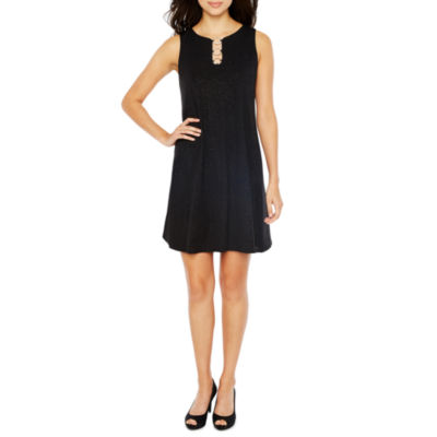 MSK Sleeveless Shift Dress