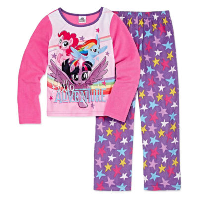 2-pc. My Little Pony Pant Pajama Set Girls