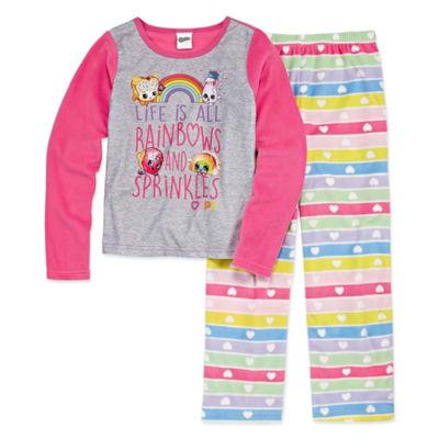 Shopkins 2-pc. Pant Pajama Set Girls