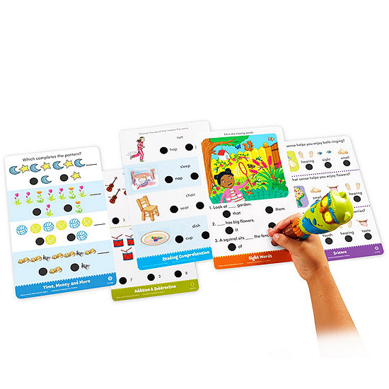 Educational Insights Hot Dots Jr Succeeding In School Set With Highlights