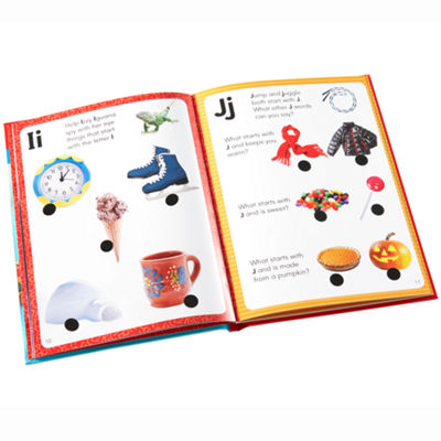 Educational Insights Hot Dots® Jr. Let's Learn the Alphabet Interactive Books (5 Book Set - books only)
