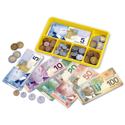 Learning Resources Canadian Currency X-Change™ Activity Set