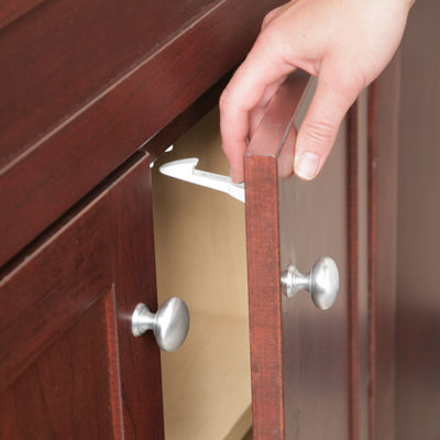 Safety 1st Spring-Loaded Cabinet & Drawer Safety Latches