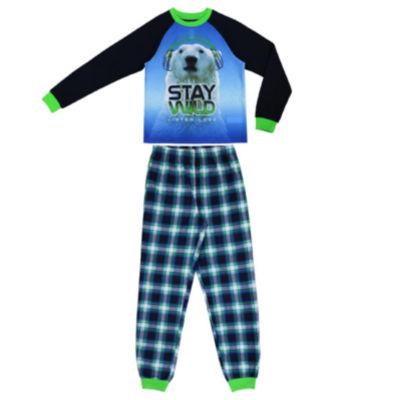 Bear 2 Piece Pajama Set - Boys 4-20