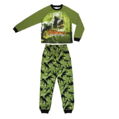Dinosaur 2 Piece Pajama Set - Boys 4-20