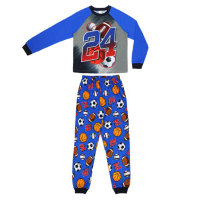 All Sport 2 Piece Pajama Set - Boys 4-20