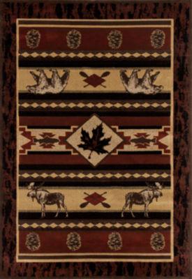 Art Carpet Cabin Acadian Adventure Woven Rectangular Rugs