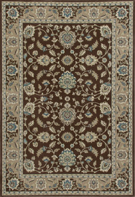 Art Carpet Kensington Jacobean Border Woven Rectangular Rugs