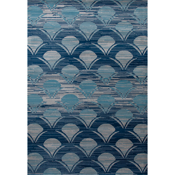 Art Carpet Seaport Waves Woven Rectangular Runner