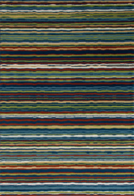 Art Carpet Seaport Wavy Stripe Woven Round Rugs