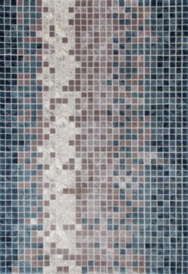 Art Carpet Titanium Mosaic Woven Rectangular Rugs