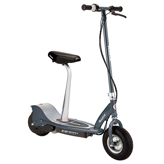 Razor Electric Scooter With Seat >> Razor E300s Seated Electric Scooter