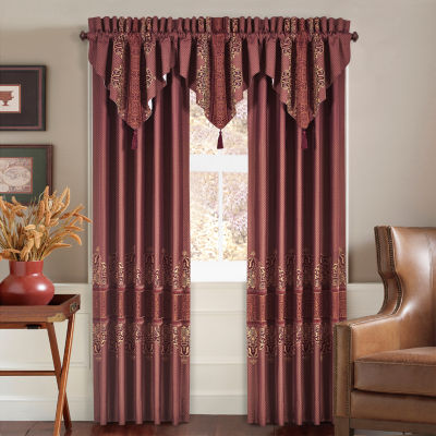 Queen Street Erica Rod-Pocket Curtain Panel