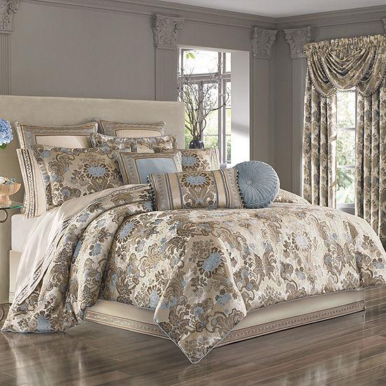 Queen Street Jordana 4-pc. Comforter Set & Accessories