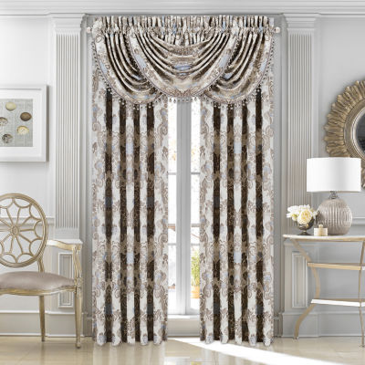 Queen Street Jordana Rod-Pocket Curtain Panel
