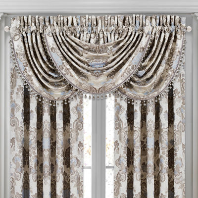 Queen Street Jordana Rod-Pocket Tailored Valance