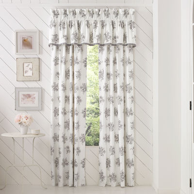 Queen Street Shannon 2-pack Rod-Pocket Curtain Panels