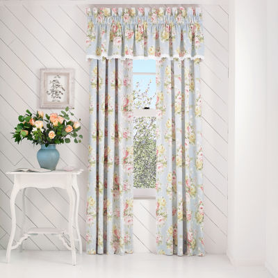 Queen Street Susie Rod-Pocket Curtain Panel