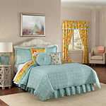 Waverly Modern Poetic Floral Reversible Quilt Set