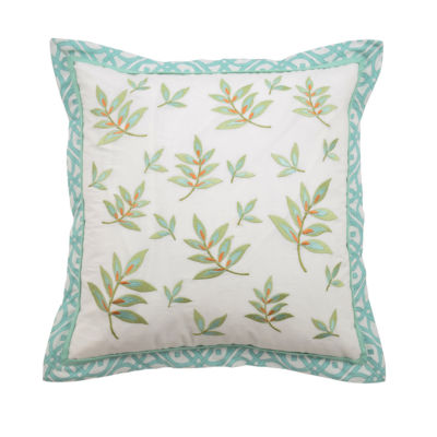 Waverly Modern Poetic Square 16x16 Throw Pillow