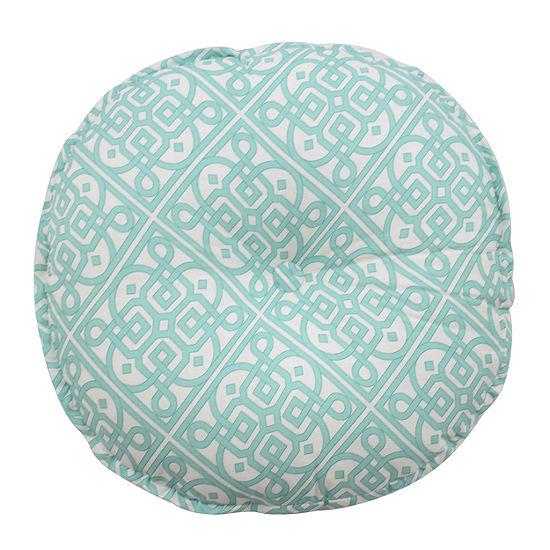 Waverly Modern Poetic Round Throw Pillow