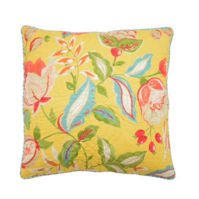 Waverly Modern Poetic Square 20x20 Throw Pillow
