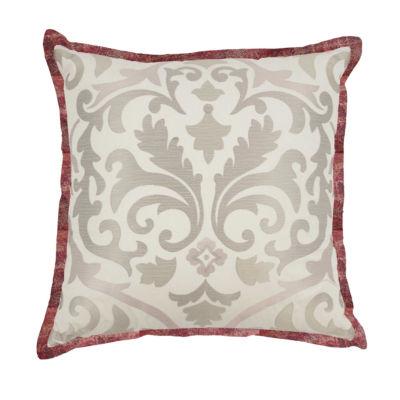 Waverly Fresco Flourish Square 18x18 Throw Pillow