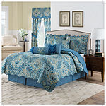 Waverly Moonlit Shadows Geometric Quilt Set