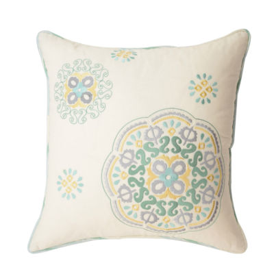 Waverly Astrid Square 16x16 Throw Pillow