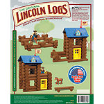 LINCOLN LOGS – Horseshoe Hill Station – 83 Pieces – Ages 3+ - Preschool  Education Toy