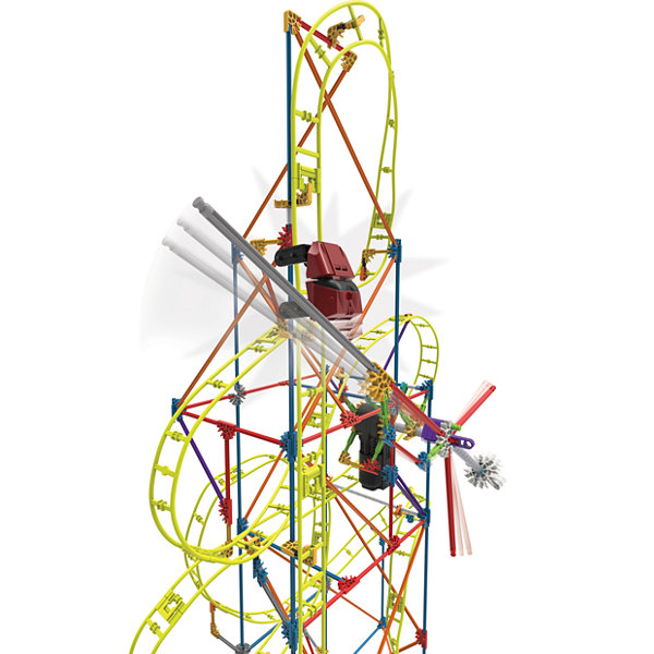 K'NEX Thrill Rides - Clock Work Roller Coaster Building Set – 305 Pieces – Ages 7+ - Engineering Education Toy