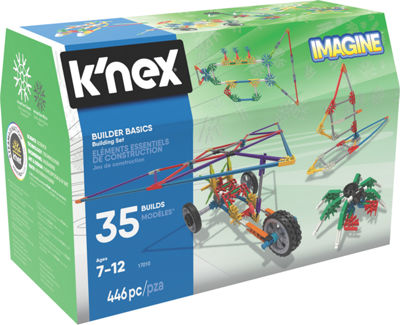 K'NEX Imagine – Builder Basics Building Set – 446 Pieces – Ages 7+ - Construction Education Toy