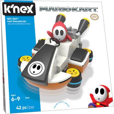 K'NEX Mario Kart - Shy Guy Kart Building Set - 42 Pieces - Ages 6+ - Construction Toy