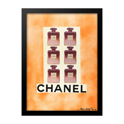 Fairchild Paris Pink Chanel No. 5 Framed Wall Art