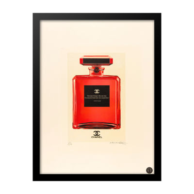 Fairchild Paris Crimson Chanel No. Best Quote Framed Wall Art