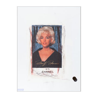 Fairchild Paris Marilyn Monroe Chanel (701) FramedWall Art