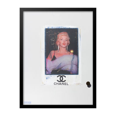 Fairchild Paris Marilyn Monroe Chanel (703) Framed Wall Art