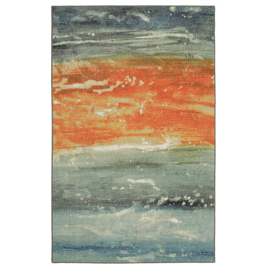 Mohawk Home Aurora Abstract Rectangular Rugs